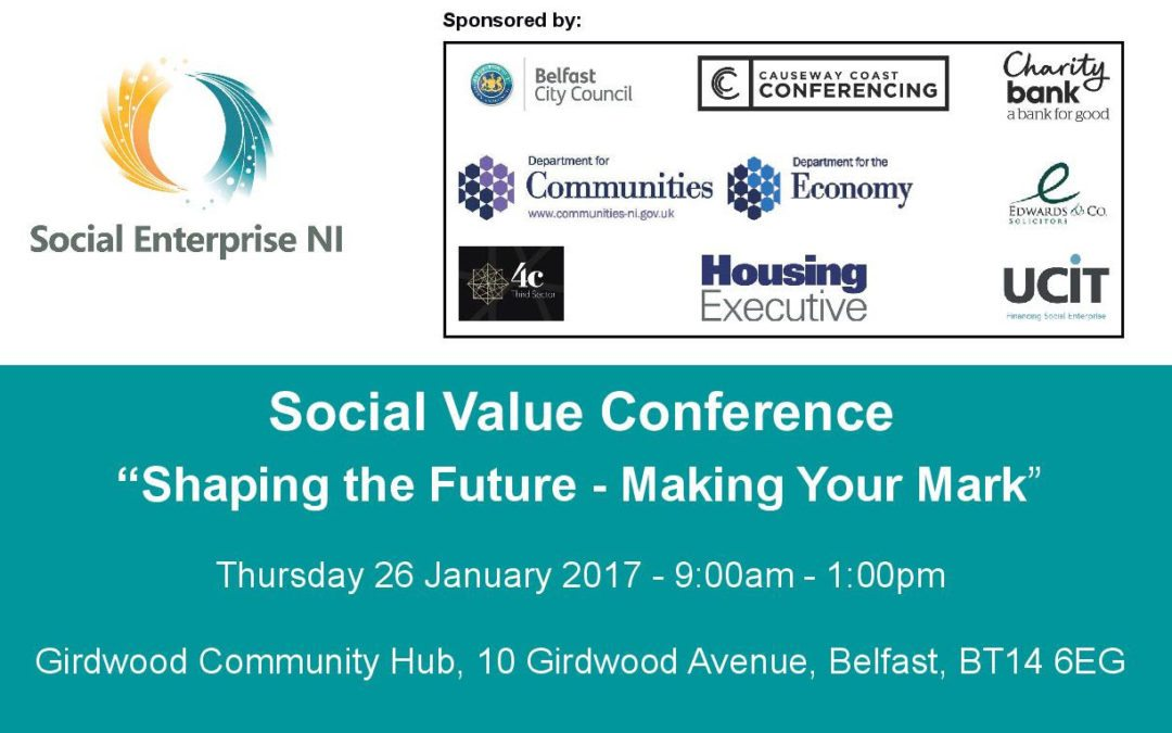 Social Enterprise NI Conference 26th January 2017