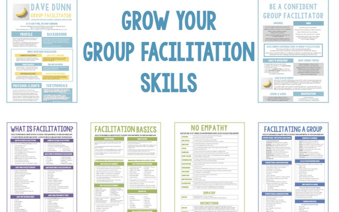 Grow Your Group Facilitation Skills