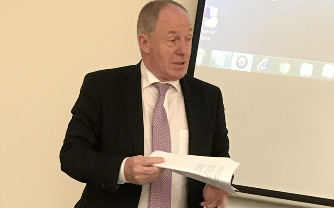 Minister Ring, 'You have someone who supports social enterprise'