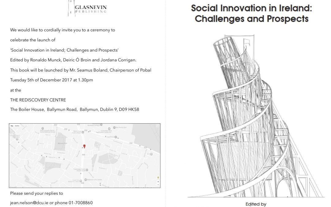 Book launch: Social Innovation in Ireland