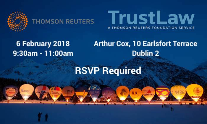 TrustLaw Social Enterprise Event 6th February 2018