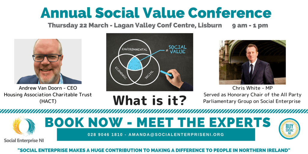 Social Enterprise NI Social Value Conference 22nd March