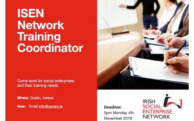 Irish Social Enterprise Network: Network Training Co-ordinator