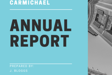 Free Carmichael Courses: Developing an Effective Annual Report