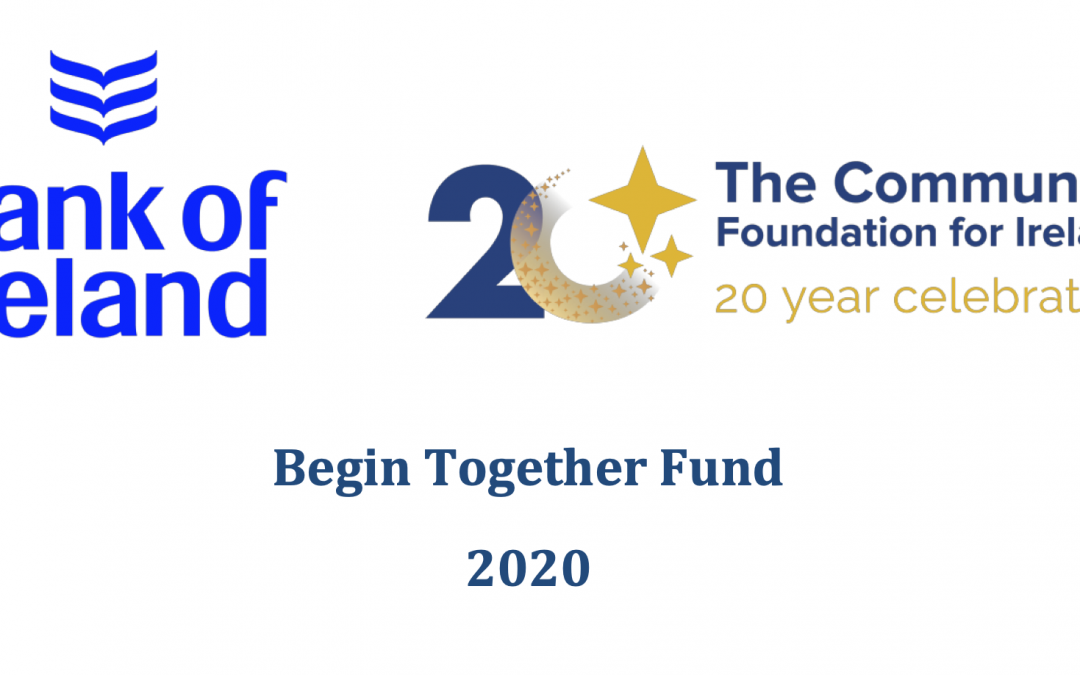 Begin Together Fund 2020 Now Accepting Applications