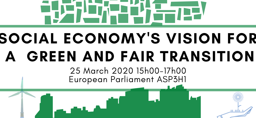 Social Economy's Vision for a Green and Fair Transition