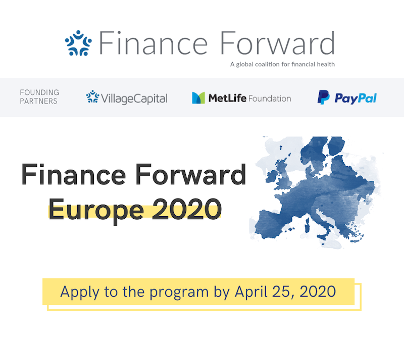 Applications for Finance Forward Europe 2020 to April 25th