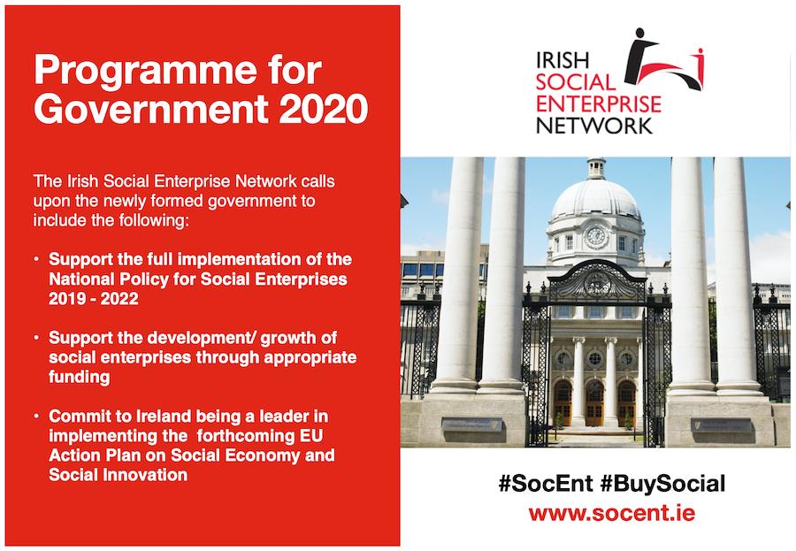 Social Enterprise in Ireland: Framework for the Programme for Government
