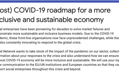 EUCLID Network: (Post) COVID-19 roadmap for a more inclusive and sustainable economy – we need your input!