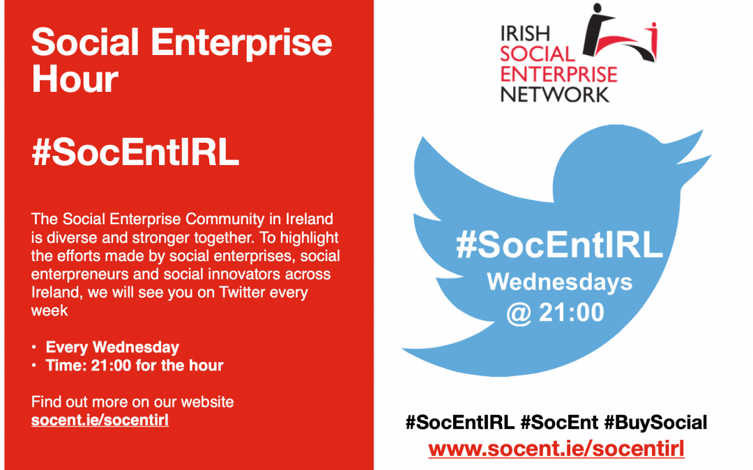 #SocEntIRL Twitter Hour Every Wednesdays @ 9pm