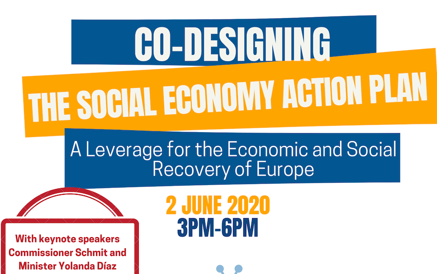 02.06 Social Economy Intergroup Webinar! An Action Plan for the Social Economy at the heart of the economic & social recovery