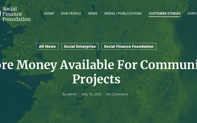 Social Finance Foundation announces two funding initiatives for community organisations and social enterprises in Ireland