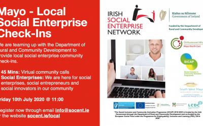 Mayo Social Enterprise Networking 10th July 2020 @ 11:00