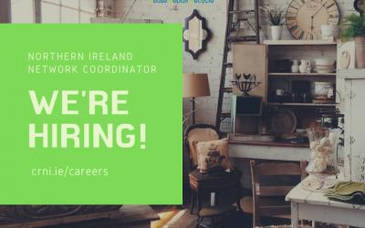 CRNI are hiring! Deadline 19th June 2020