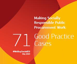 Making socially responsible public procurement work #WeBuySocialEU