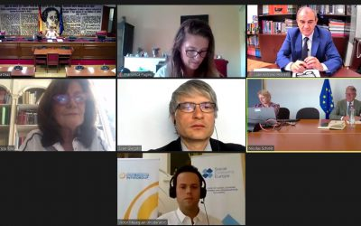Social Economy Intergroup online  hearing on the European Action Plan for the Social Economy with over 400 participants!