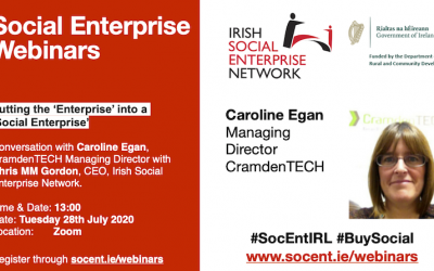Webinar: Putting the Enterprise in Social Enterprise – Caroline Egan
