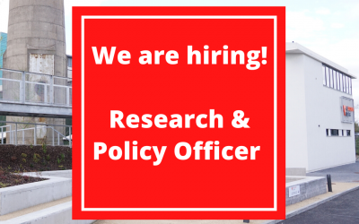 Rediscovery Centre are Hiring! Research & Policy Officer