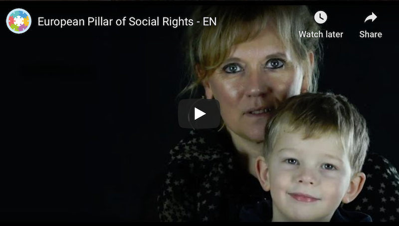 Social Platform launched a new video to present the European Pillar of Social Rights!