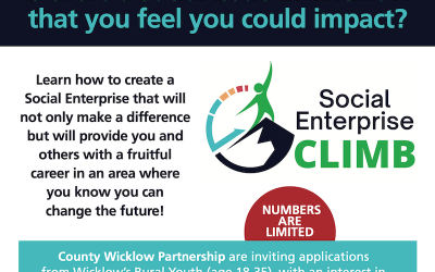 Social Enterprise Climb: FREE opportunity for people in your community