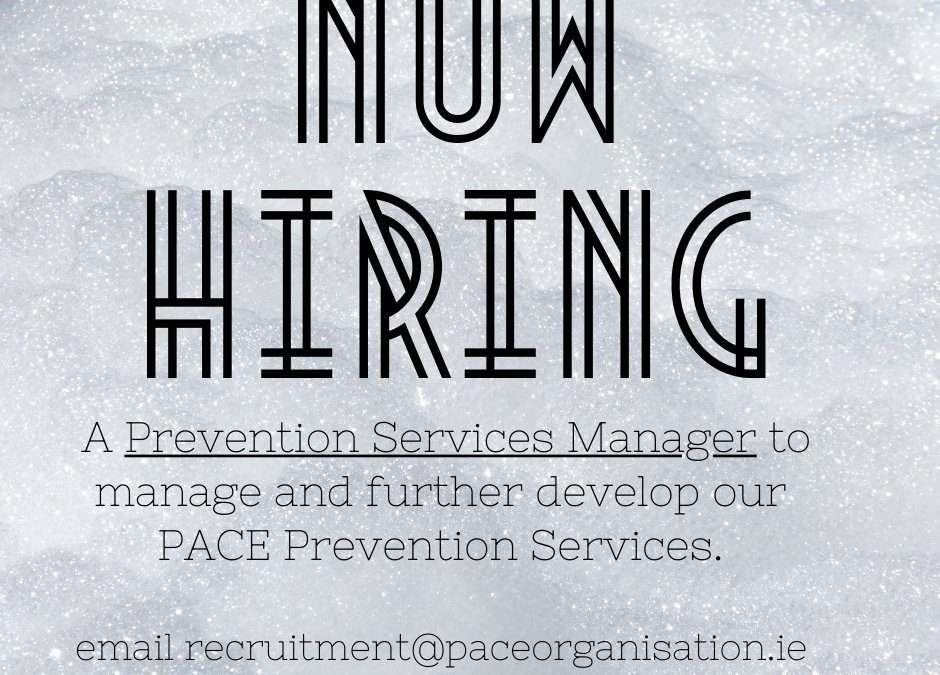PACE Social Enterprise: Are hiring