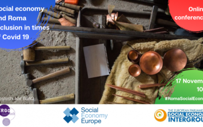 17/11 Social economy and Roma inclusion in times of Covid: A contribution to Europe's Action Plan on Social Economy