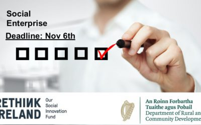 "Important Survey Deadline: Nov 6th ""Research into challenges relating to legal form and the need for a distinct legal form for social enterprise in Ireland"""