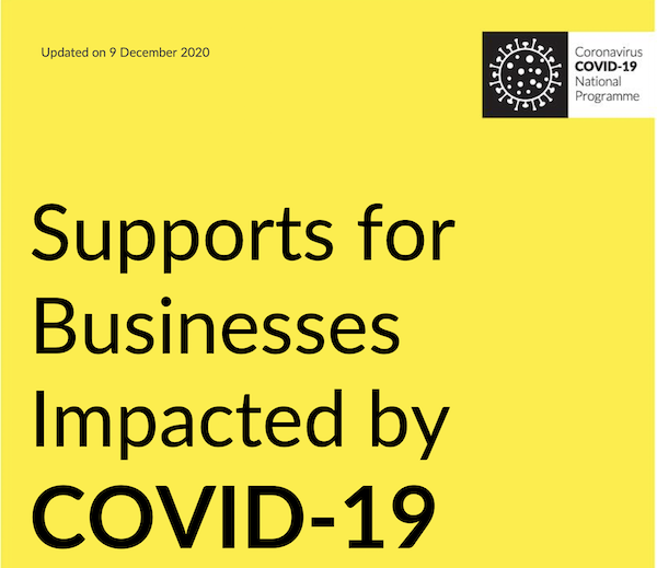 Supports for Businesses Impacted by COVID-19