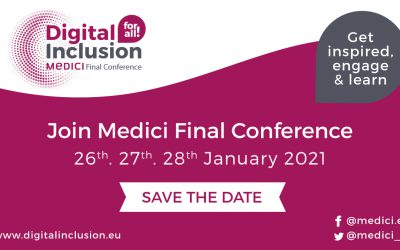 Digital Inclusion For All Medici Final Conference 26th – 27th – 28th January 2021