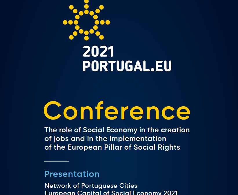 29 March- Save the date  Portuguese Presidency Conference on Social Economy