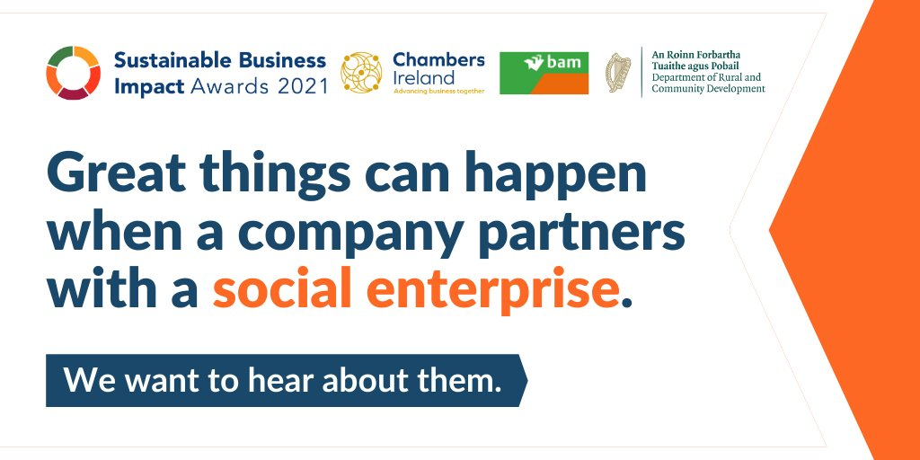 Social Enterprise category at the Sustainable Business Impact Awards 2021