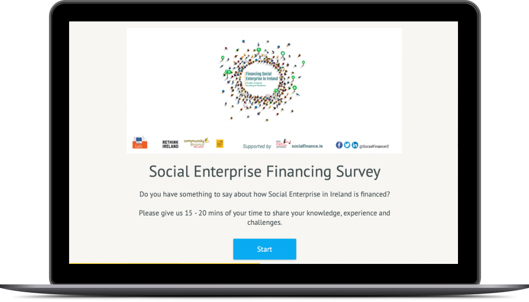 Do you have something to say about how Social Enterprise in Ireland is financed? Closing date 28th July 2021