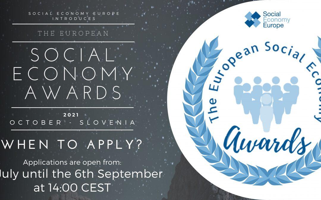 European Social Economy Awards Announced!