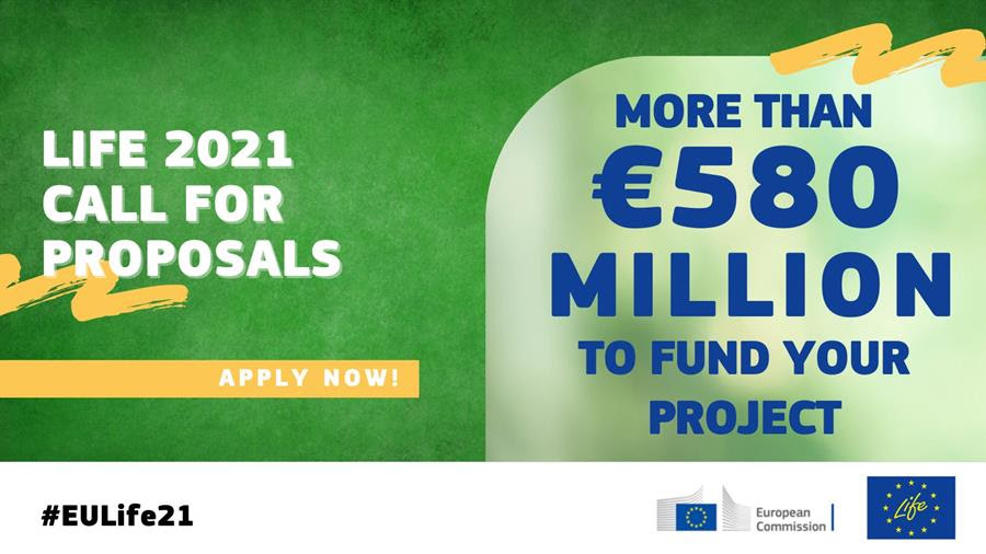 Applications Open for the New LIFE Programme for 2021-2027