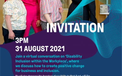 Disability Inclusion within the Workplace Rethink Ireland Webinar 31st August