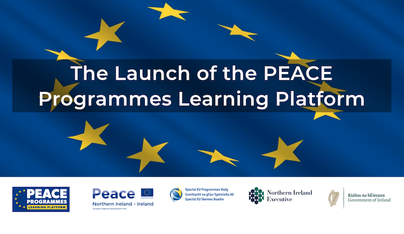 Official Launch of the PEACE Programmes Learning Platform on 15 Sep 2021