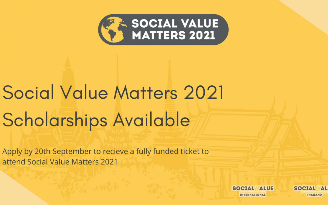 Social Value Matters 2021 Conference Updates