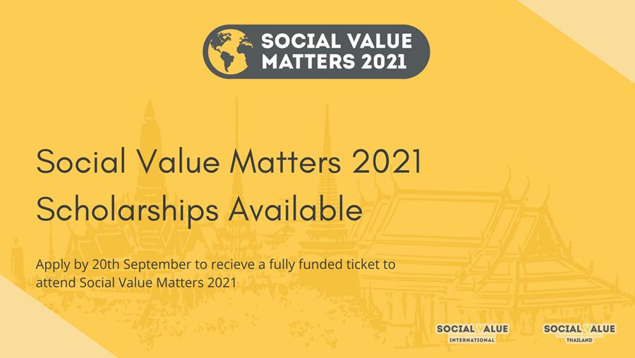 SVM2021 Scholarship Applications Open!