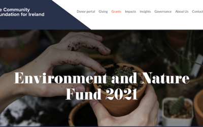 Community Foundation for Ireland: Environment and Nature Fund 2021