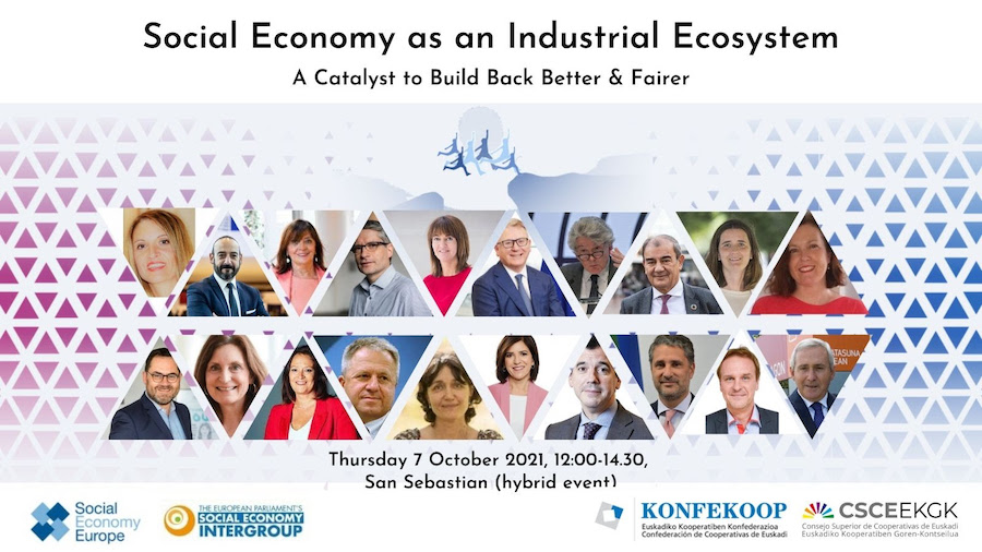 TODAY📢Social Economy Intergroup Public Hearing  Social Economy as an Industrial Ecosystem- A catalyst to Build Back Better and Fairer Final call to register!