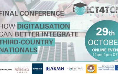 ICT4TCN Final Conference Announced 22nd October 2021